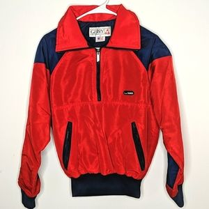 Vintage Gerry Red Pullover Ski Jacket Small